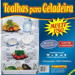 TOALHAS P/GELADEIRA C/3PCS