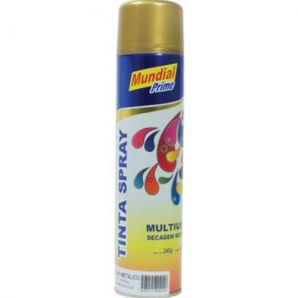 SPRAY METALICA OURO 400ML