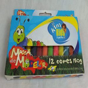 MASSINHA DE MODELAR 12 CORES