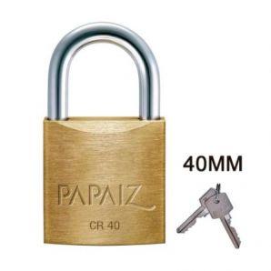 CADEADO PAPAIZ 40 MM CX C/ 5 UN - 10393