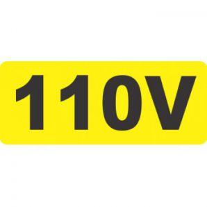 PLACA 110V 1.5X3.5 C/16