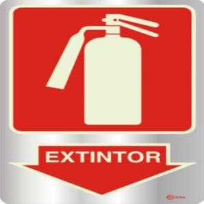 PLACA EXTINTOR 15X20