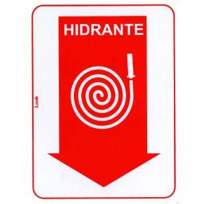 PLACA HIDRANTE 15X20