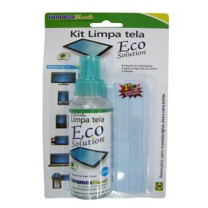 LIMPA TELA KIT- ECO SOLUTION LIMPEZA VER