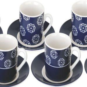 CJTO XICARA DE CAFE 12 PCS ITALY - 86522