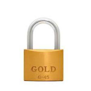 CADEADO GOLD 45MM