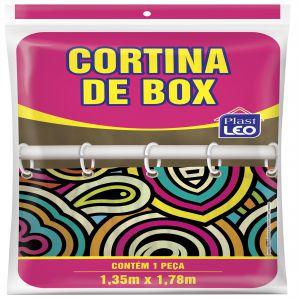 CORTINA BOX ESTAMPADA - 81666