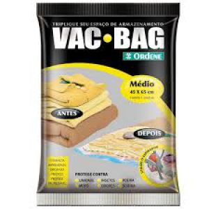 SACO P/ ARMAZ. A VACUO VAC BAG 45X65CM
