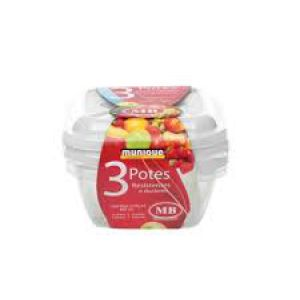 POTE PLAST QUAD 3X1 400ML MUNIQUE