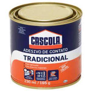 COLA CONTATO CASCOLA SEM TULUOL 195GR
