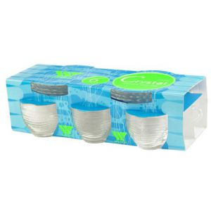 XICARA CRYSTAL CAFE 93ML 6X1 C PIRES