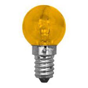 LAMPADA BOLINHA 127V AMARELA