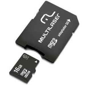 CARTAO MICRO SD 16GB MULTILASER