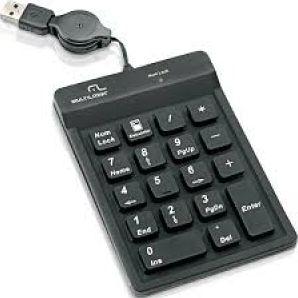 TECLADO NUMERICO RETRATIL PT USB