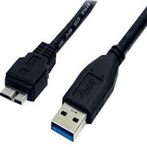 CABO USB-A M X MICRO USB-B 3.0 80CM AZ